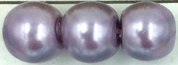 44 Violet - glass pearls - beads - all sizes